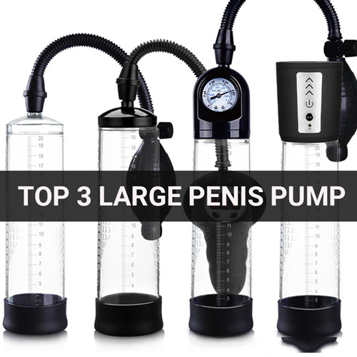 Top 3 Large Penis Pump
