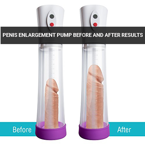 Penis Enlargement Pump Before and After Results