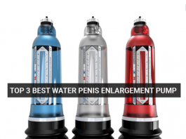 Top 3 Best Water Penis Enlargement Pump